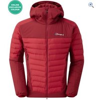 Berghaus Mens Ulvetanna Hybrid 2.0 Jacket - Size: XS - Colour: HAUTE RED