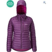 Rab Microlight Alpine Womens Jacket - Size: 16 - Colour: Berry