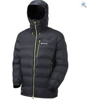 Montane Mens Black Ice Jacket - Size: XXL - Colour: Black / Kiwi Green