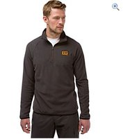 Bear Grylls by Craghoppers Mens Bear Core Microfleece - Size: M - Colour: Black Pepper