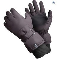 Heat Holders Mens Ski Gloves - Colour: Black