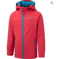 Hi Gear Switch Childrens Softshell Hoody - Size: 11-12 - Colour: TEABERRY-SURF