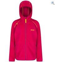 Regatta Kids Chromium Fleece - Size: 11-12 - Colour: DUCHESS PINK