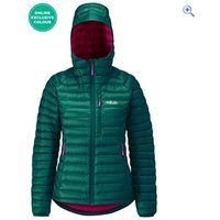 Rab Microlight Alpine Womens Jacket - Size: 8 - Colour: Spruce