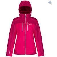 Regatta Womens Calderdale II Waterproof Jacket - Size: 12 - Colour: DUCHESS PINK