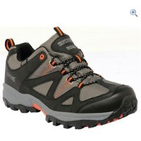 Regatta Gatlin Low Mens Walking Shoe - Size: 7 - Colour: CHARCOAL-ORANGE