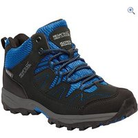 Regatta Holcombe Mid Kids Walking Boot - Size: 6 - Colour: BLACK-OX. BLUE