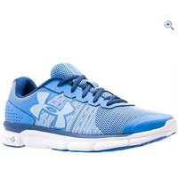 Under Armour UA Micro G Speed Swift Womens Running Shoes - Size: 5 - Colour: Light And Dark Blue Mix