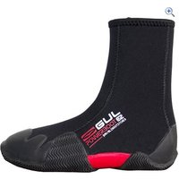 Gul Junior Round Toe Zipped 5mm Power Boot - Size: M - Colour: Black / Grey