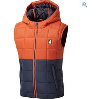 Hi Gear Kentucky Kids Gilet - Size: 13 - Colour: PUMPKIN-IRIS