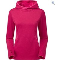 Montane Womens Sirenik Hoodie Pull-On - Size: 10 - Colour: FRENCH BERRY