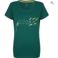 Dare2b Womens Feathery Tee - Size: 14 - Colour: DEEP LAKE