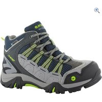 Hi-Tec Forza Mid WP Jr Kids Walking Boot - Size: 6 - Colour: GREY-LIMONCELLO