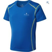 Hi Gear Kids Balance Baselayer SS - Size: 11-12 - Colour: LAPIS BLUE
