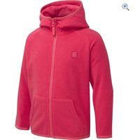 Hi Gear Eldora Kids Fleece Hoody - Size: 34 - Colour: TEABERRY