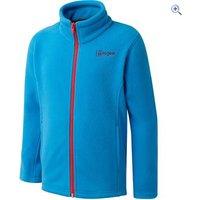 Hi Gear Childrens Oregon Fleece - Size: 11-12 - Colour: SURF-TEABERRY