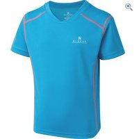 Hi Gear Kids Balance Baselayer SS - Size: 5-6 - Colour: SURF-TEABERRY