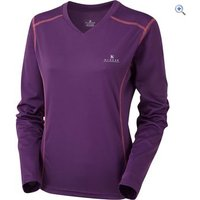 Hi Gear Womens Balance Baselayer LS - Size: 8 - Colour: Grape