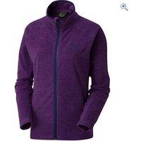 North Ridge Womens Glacier Fleece IA - Size: 16 - Colour: BRIGHT VIOLET