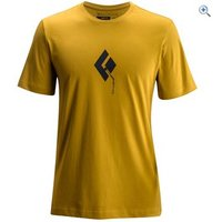 Black Diamond Mens Placement Tee - Size: XL - Colour: CURRY