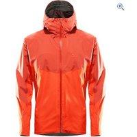 Haglfs Mens Virgo Waterproof Jacket - Size: L - Colour: HABANIERO