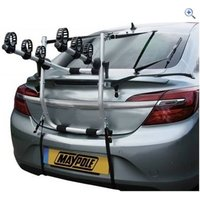 Maypole High Rear Mounted 3 Bike Cycle Carrier - Colour: Black