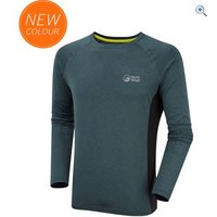 North Ridge Mens Resistance Long Sleeve Baselayer - Size: S - Colour: Teal