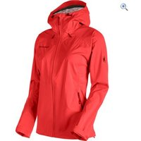 Mammut Womens Keiko HS Hooded Jacket - Size: L - Colour: BARBERRY