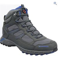 Mammut Mens Fernow Mid GTX Hiking Boot - Size: 10 - Colour: GRAPHITE- BLUE
