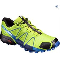 Salomon Mens Speedcross 4 Trail Running Shoe - Size: 11 - Colour: Lime