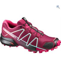 Salomon Womens Speedcross 4 Trail Running Shoe - Size: 5 - Colour: Red