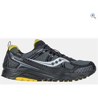 Saucony Excursion TR10 GTX Mens Trail Running Shoe - Size: 8 - Colour: Black / Yellow