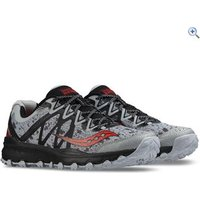 Saucony Caliber TR Mens Trail Running Shoe - Size: 6.5 - Colour: GREY-RED