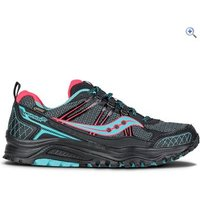 Saucony Excursion TR10 GTX Womens Trail Running Shoe - Size: 8 - Colour: BLACK-CORAL