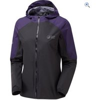 North Ridge Womens Riverrun Jacket - Size: 10 - Colour: BLACK-PURPLE