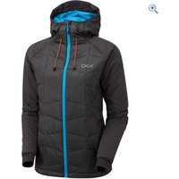 OEX Womens Nevis Insulated Jacket - Size: 10 - Colour: RAVEN-OCEAN