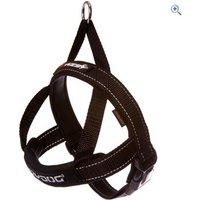 EzyDog Quick Fit Harness (S) - Colour: Black