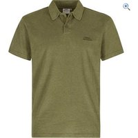 Weird Fish Mens Andy Embroidered Logo Jersey Polo Shirt - Size: L - Colour: MILITARY OLIVE
