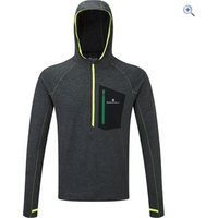 Ronhill Mens Momentum Victory Hoodie - Size: XL - Colour: Charcoal