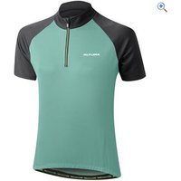 Altura Womens Cadence Short Sleeve Cycling Jersey - Size: 10 - Colour: Aquamarine