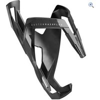 Elite Custom Race Plus Resin Bottle Cage - Colour: STEALTH BLACK