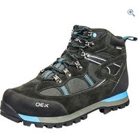 OEX Womens Vyper Trek Mid Walking Boot - Size: 7 - Colour: Black / Blue