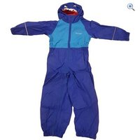 Regatta Charco Kids Waterproof Suit - Size: 18-24 - Colour: Shark