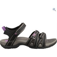 Teva Tirra Womens Sandals - Size: 4 - Colour: Black / Grey