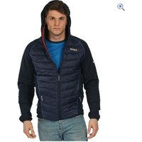 Regatta Mens Andreson II Hybrid Jacket - Size: L - Colour: Navy