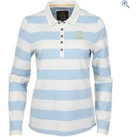 Toggi Framingham Ladies Long Sleeved Striped Top - Size: 14 - Colour: Blue