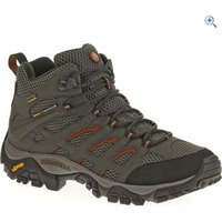 Merrell Mens Moab Mid GTX Shoes - Size: 8 - Colour: Grey And Black