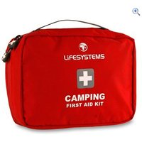 Lifesystems Camping First Aid Kit - Colour: Red