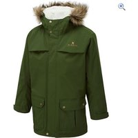 Hi Gear Kids District Parka - Size: 5-6 - Colour: Forest Green