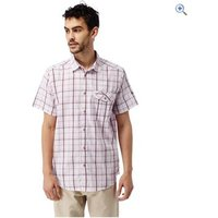 Craghoppers Mens Westlake SS Shirt - Size: XXL - Colour: Oxblood Red